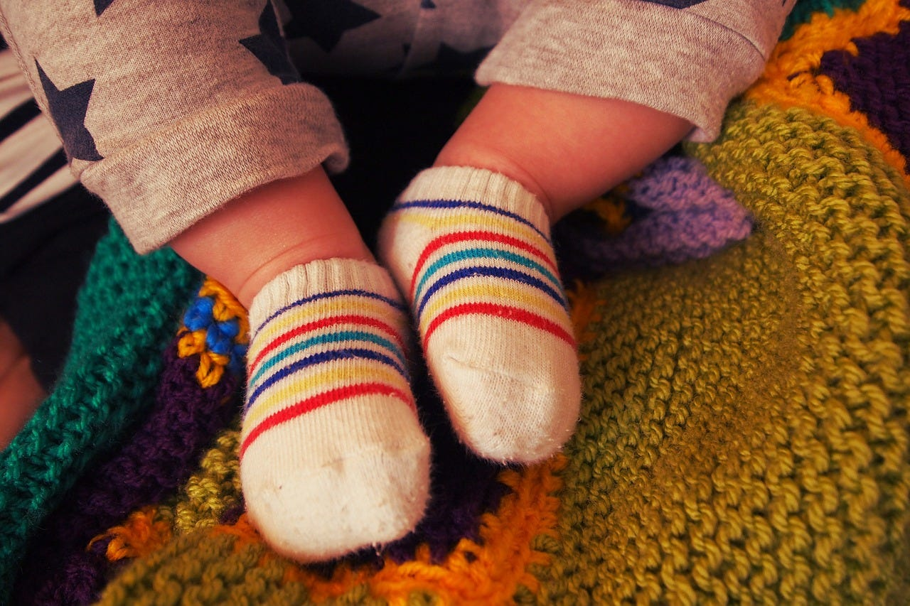 What's that Smell? Why Your Kid's Feet Stink