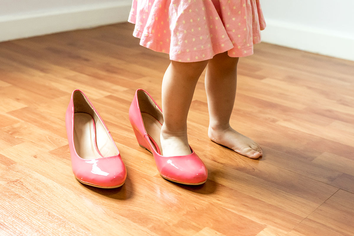 Foot-Shaped Kids' Shoes: Leave The Pointed Toes To The Adults