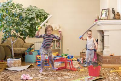 Tidying Up for Kids (Make Room Cleaning Fun!)