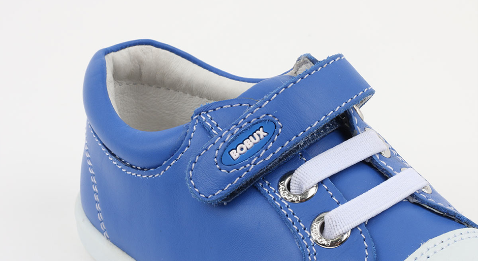 Bobux Trouble trainer electric blue