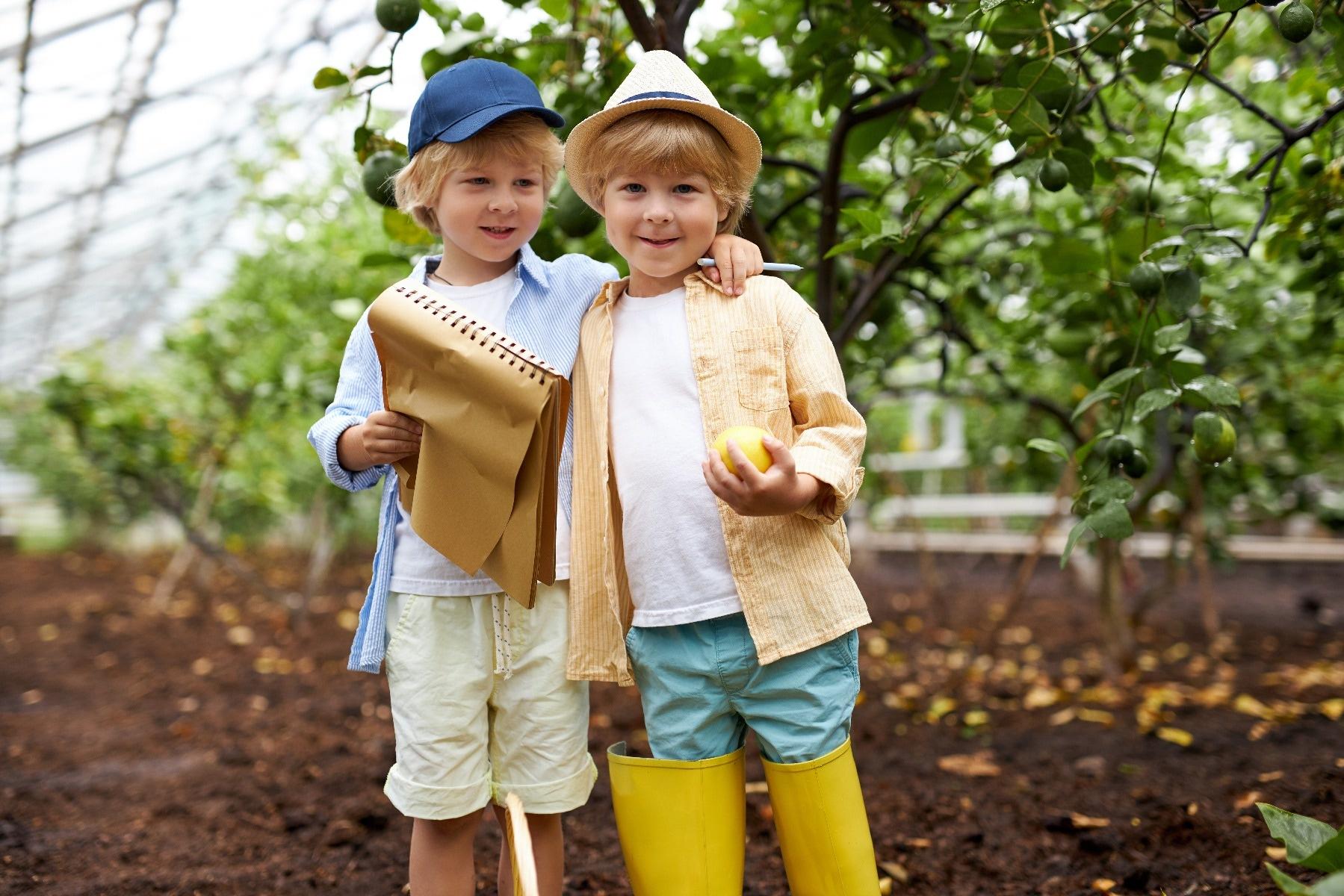 kids garden treasure hunt