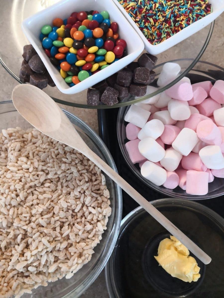 Rice crispie treats ingredients pie piper